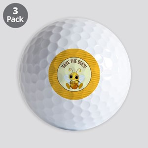 SAVE THE BEES Golf Balls