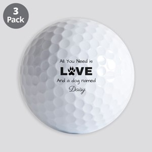 All you need is love and a dog named Daisy Golf Ba