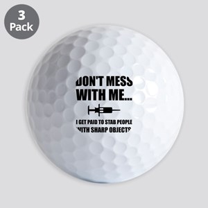 Stab Syringe Medical Golf Ball