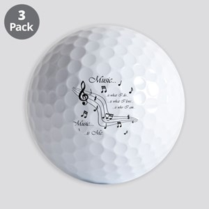 Music is Me Golf Balls