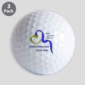 Down Syndrome Awareness Ribbon Golf Ball
