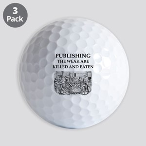 PUBLISH.ing Golf Balls