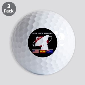 Deep Space Network Golf Balls