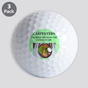 carpenters Golf Balls
