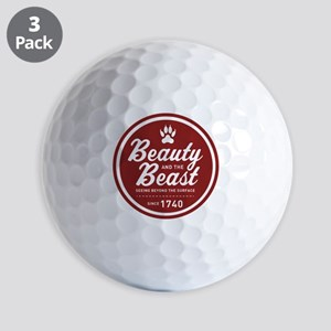 Beauty and the Beast Since 1740 Golf Balls