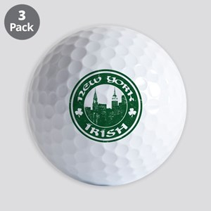 New York Irish American Golf Ball