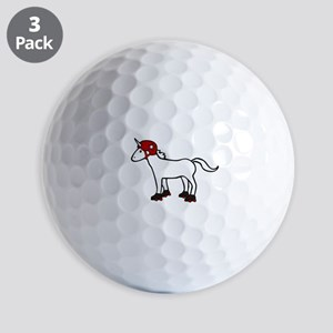 Roller Derby Unicorn Golf Balls