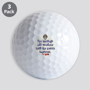 Morale Booster Golf Ball