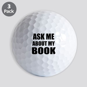 Ask me about my Book Golf Ball