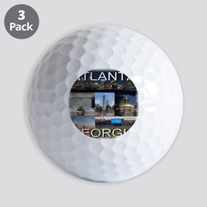 ATLANTAGEORGIA_TAL_COLLAGE Golf Balls