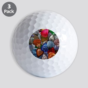 Guitar Picks Golf Balls