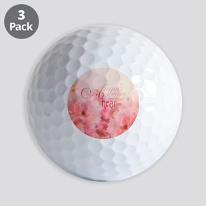 Pink Cherry Blossom for Angels Golf Ball