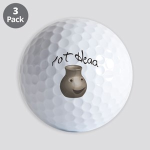 pot-head Golf Balls