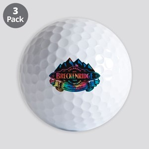 Breckenridge Mountain Emblem Golf Balls