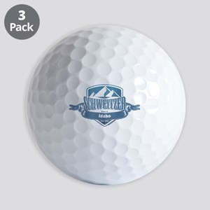 Schweitzer Idaho Ski Resort 1 Golf Balls