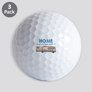 Home Is Where You Park It! Golf Ball