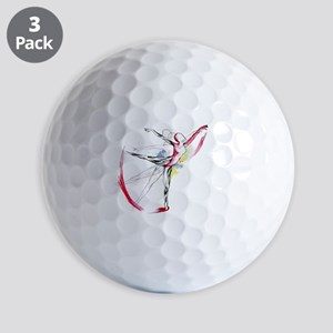 Anatomy of Ballet Golf Balls