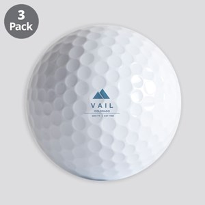 Vail Ski Resort Golf Ball