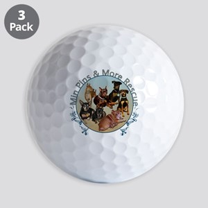 MPMR Flourish Logo Golf Ball