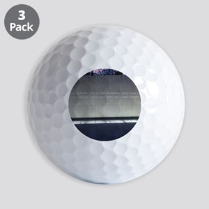 MLK Darkness and Love Golf Balls
