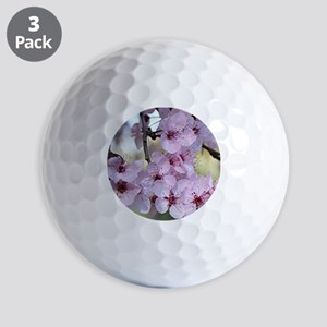 Cherry blossoms in spring time Golf Balls
