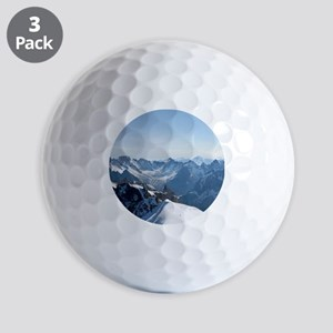 MOUNTAINS-Pro PHOTO Golf Ball