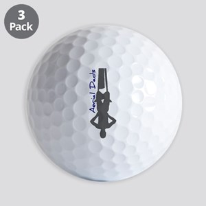 Aerial Dads Golf Ball