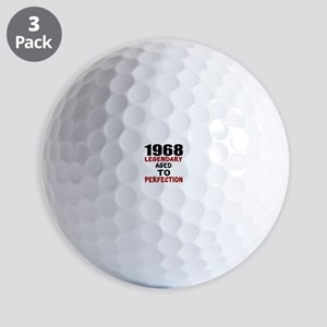 1968 Legendary Aged To Perfection Golf Balls