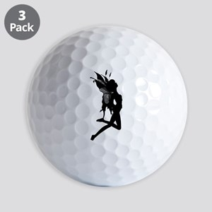 Fairy Silhouette Golf Balls