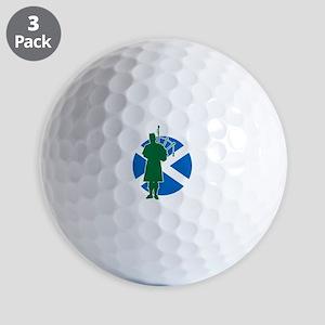 Scottish Piper Golf Balls