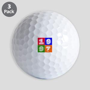 1997 Birthday Designs Golf Balls