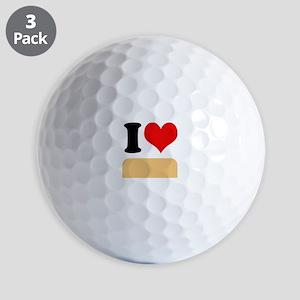 I heart twinkies Golf Balls