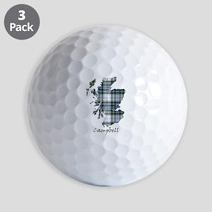 Map-Campbell dress Golf Balls