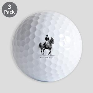 """Sport Horse """"Dressage"""" Golf Balls"""