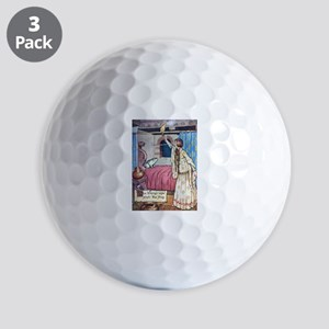 The Vikings Wife and the Frog Golf Balls