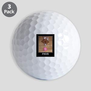 Brittany Spaniel Golf Balls