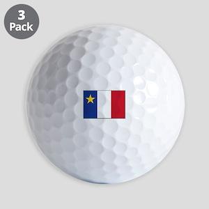 Flag of Acadia Golf Balls