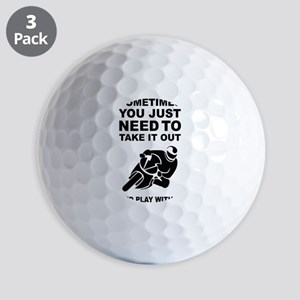 Take It Out And Play With It Golf Balls