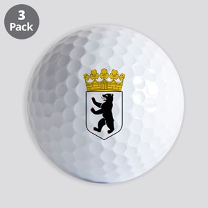 Berlin Coat of Arms Golf Balls