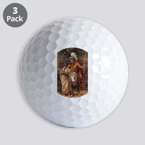 more man and woman joined Golf Balls