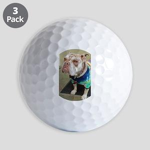 Olde English Bulldogge Golf Balls
