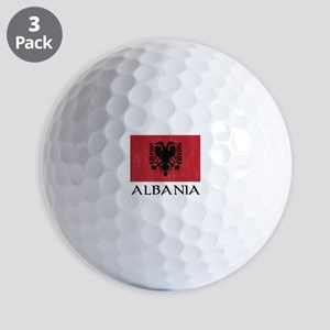 Albania Flag Golf Balls