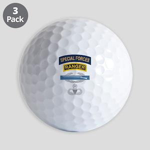 SF Ranger CIB Airborne Master Golf Balls