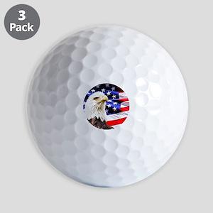 Bald Eagle Golf Balls