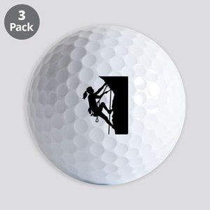 Climbing woman girl Golf Balls