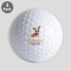 Chihuahua Mom Golf Balls