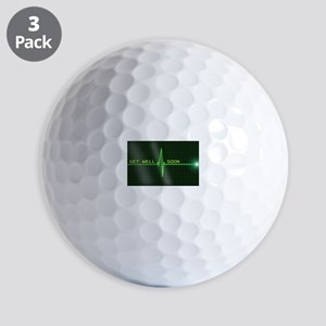 Get Well Soon ERG Golf Ball
