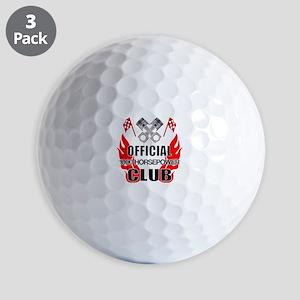 Official 1000 HP Club Golf Balls