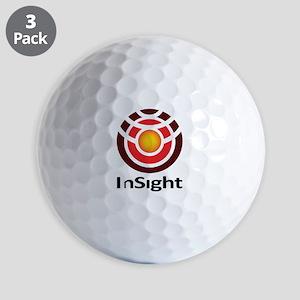Insight To Mars! Golf Balls
