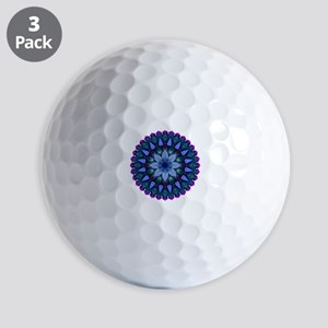Evening Light Mandala Golf Balls